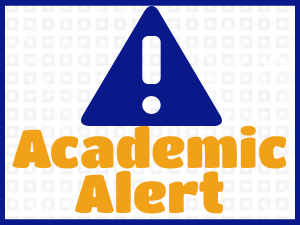 Link to Information about Academic Alerts