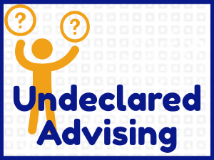 Link to Undeclared Academic Advising information