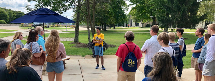 there's nothing like a tour of Pitt-Johnstown's campus